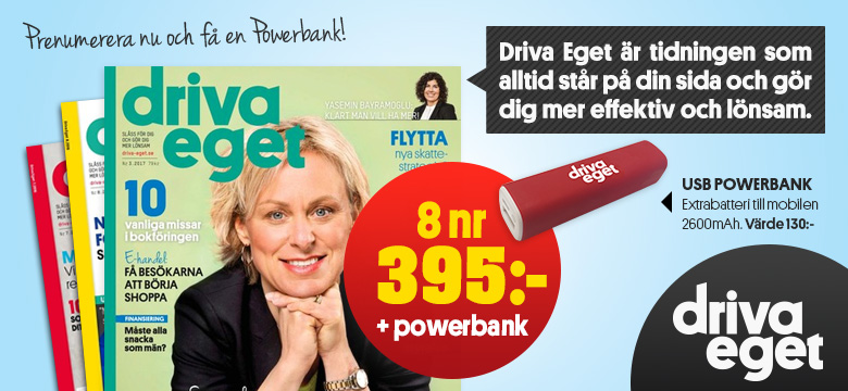 Driva Eget