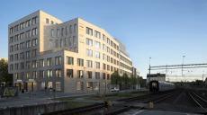 De flyttar till Posthornet som byggs i Lund