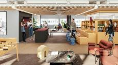 Flexibla kontor på tre nya våningsplan