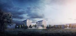 Ikeas kontorshus Hubhult och hotell byggs ut