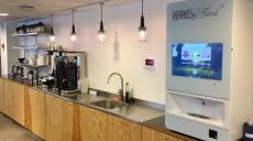 Kontorshotell erbjuder smoothieautomat