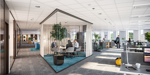 Moderna kontor har nöjdaste medarbetarna