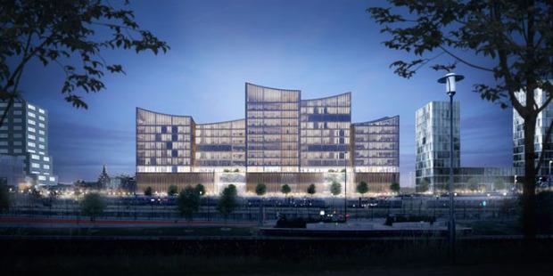 Ny domstolsbyggnad för 921 miljoner