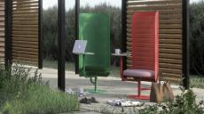 Nyheter för utomhusarbete visas under designveckan
