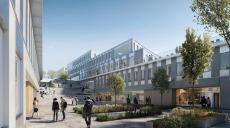 Tre nya byggnader planeras på campus Albano