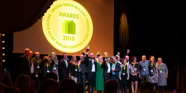 Vinnarna i Sweden Green Building Awards